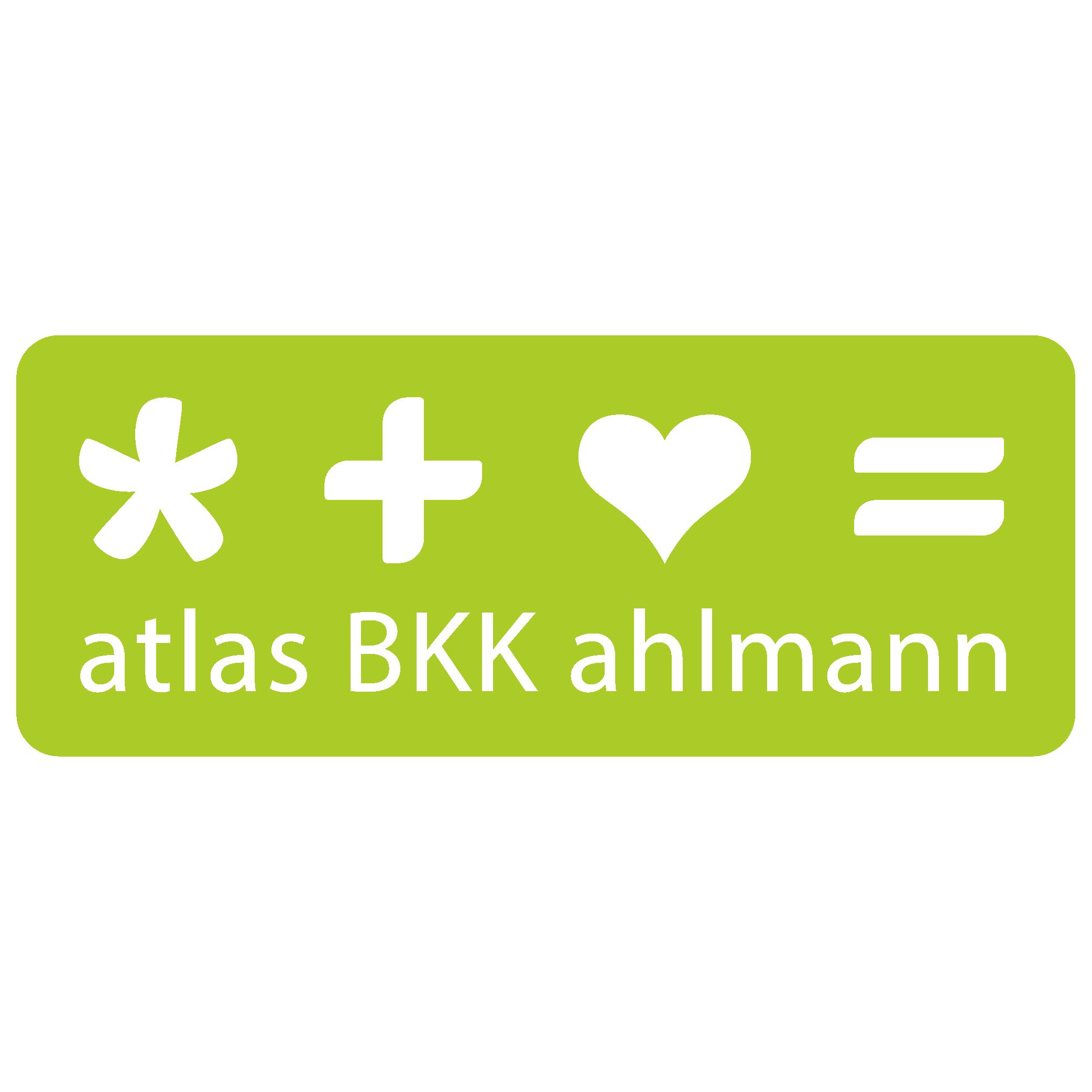 Markenzeichen der atlas BKK ahlmann