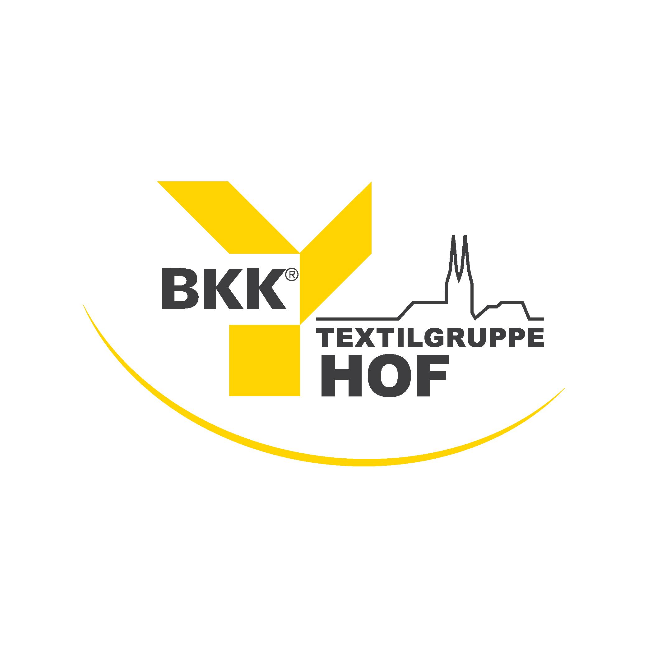Markenzeichen der BKK Textilgruppe Hof
