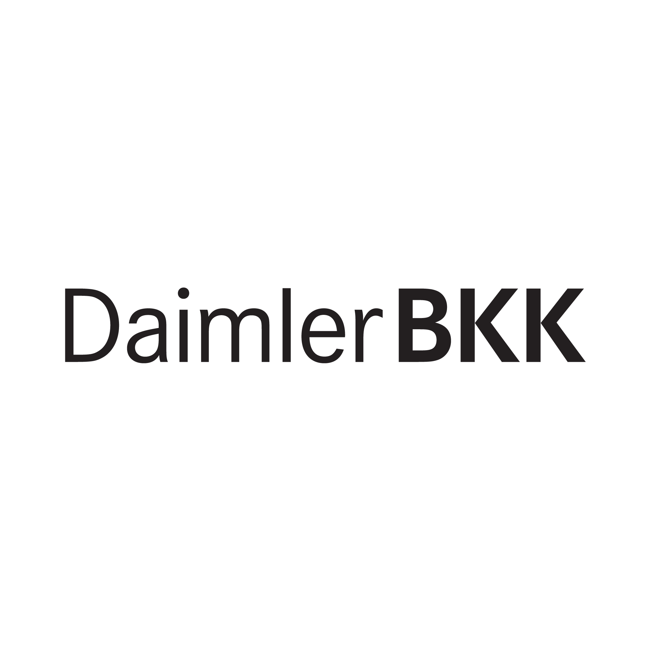 Markenzeichen der Daimler BKK